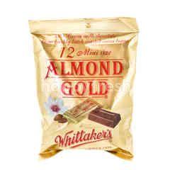 Whittaker's 12 Mini Size Almond Gold