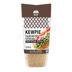 Kewpie Sandwich Spread Spicy Black Pepper