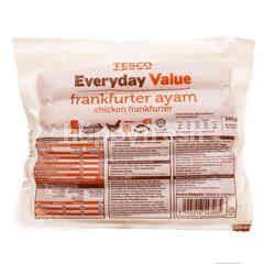 Tesco Everyday Value Chicken Frankfurter