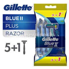 Gillette Pisau Cukur Plus 5'S  Bonus Ultra Grip