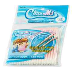 Char Mi Spiral Cotton Buds