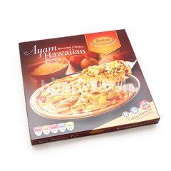 Tricious Hawaiian Chicken Pizza