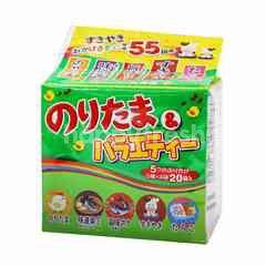 Marumiya Noritama Variety Egg & Laver Sprinkle Seasonings (20 Packs)