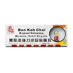 Ban Kah Chai Kapsul Selsema, Demam, Sakit Kepala