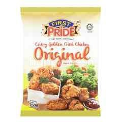 First Pride Fully Cooked Crispy Golden Fried Chicken Original