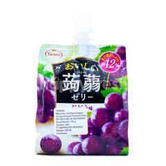 Tarami Grape Konjac Pouched Jelly