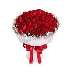 66 Red Roses Bouquet