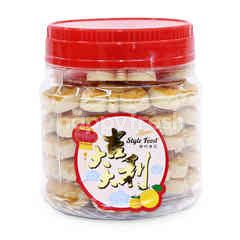 Style Food Cashew Nut Cookies