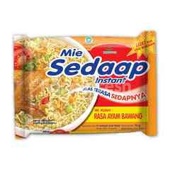 Mie Sedaap Chicken Onion Instant Soup Noodles