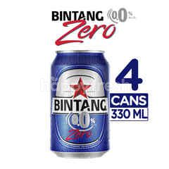 Bintang Zero 0.0% Alcohol Carbonated Malt Drink 4 Pack