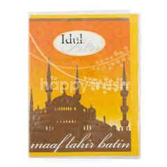 Capricorn Ied Festive Greeting Card