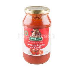 San Remo Tomato Onion & Gerlic Pasta Sauce