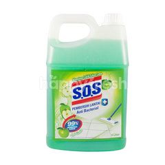 S.O.S Antibacterial Floor Cleaner Green Apple