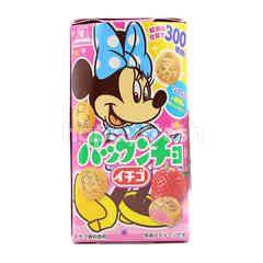 Morinaga Strawberry Flavour Cookies