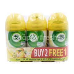 Air Wick Citrus Zest Scent Freshamtic Air Freshener Refill Spray (3 Pieces)
