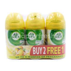 Air Wick Citrus Zest Scent Freshamtic Air Freshener Refill Spray (3 Pieces)