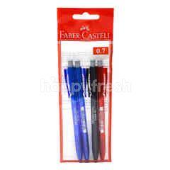 Faber Castell Click X7 Ball Pen (0.7Mm)