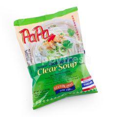 Papa Instant Rice Noodles Clear Soup Flavor