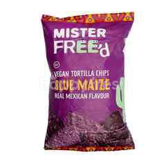 Mister Free'D Blue Maize Real Mexican Flavour Vegan Tortilla Chips