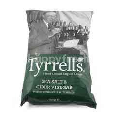 Tyrrells Sea Salt And Cider Vinegar Crips