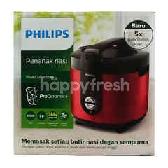 Philips Rice Cooker Viva Collection HD3132 Red
