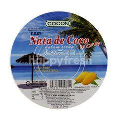 Cocon Nata De Coco In Syrup Mango Flavour