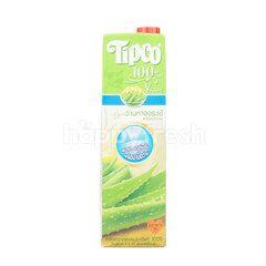 ทิปโก้ น้ำว่านหางจระเข้ผสมเนื้อว่าน 100%