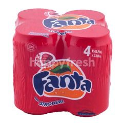 Fanta Strawberry Carbonated Drinks