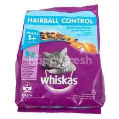 Whiskas Makanan Kucing Rasa Ayam & Tuna untuk Mengendalikan Bola Rambut