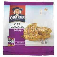 Quaker Raisins Oat Cookies (10 Sachets)