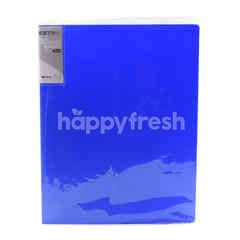 Umoe Blue 2D Ring Binder File