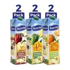 Buavita Paket Jus Buah Mangga, Apel dan Jeruk