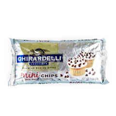 Ghirardelli Chocolate Premium Baking Chips Mini Chips