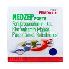 Neozep Forte Common Cold Medicine