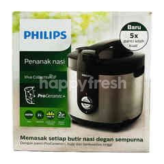 Philips Rice Cooker Viva Collection HD3132 Silver