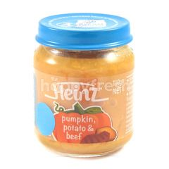 Heinz Pumpkin Potato & Beef Puree 1-5 Years