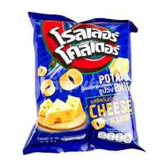 Roller Coaster Cheese Potato Ring Snack