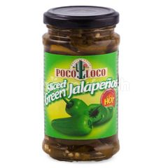 Poco Loco Sliced Green Jalapenos Hot