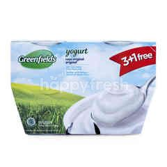 Greenfields Yogurt Rasa Original 3+1 Free