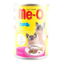 Me-o Cat Food Seafood