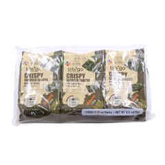 CJ Bibigo Crispy Seaweed Sesame Snacks (3 Pieces)