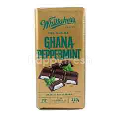 Whittaker's 72% Cocoa Ghana Peppermint Chocolate
