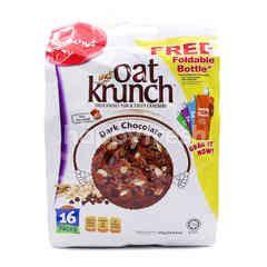Munchy's Dark Chocolate Flavoured Oat Krunch With Hazelnut 16 Packs