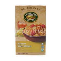 Nature's Path Gluten-Free Organic Honey'D Corn Flakes Cereal
