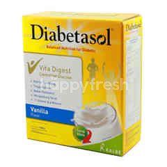Diabetasol Susu Nutrisi Bubuk untuk Diabetes Rasa Vanila