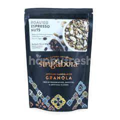 Singabera Granola Kacang Panggang Rasa Espresso Artisan Handbaked