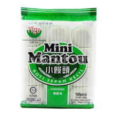 Figo Pandan Mini Mantou (12 Pieces)