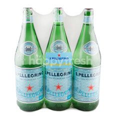S.Pellegrino Sparking Natural Mineral Water 1 l X 3 Pcs
