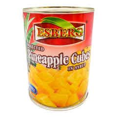 Esberg Selected Pineapple Cubes In Syrup