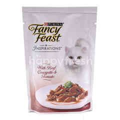Purina Fancy Feast Inspirations With Beef, Courgette & Tomato Cat Food